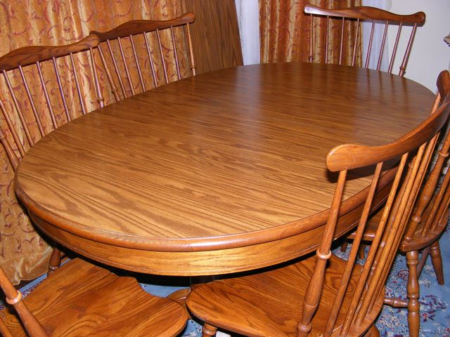 Tell City Dining Table With 6 Chairs Marva S Placemarva S Place