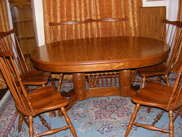 Tell City Dining Table with 6 Chairs - Marva's PlaceMarva ...