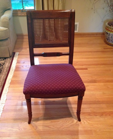 Hekman Dining Table With 6 Chairs, Consignment Furniture Minneapolis