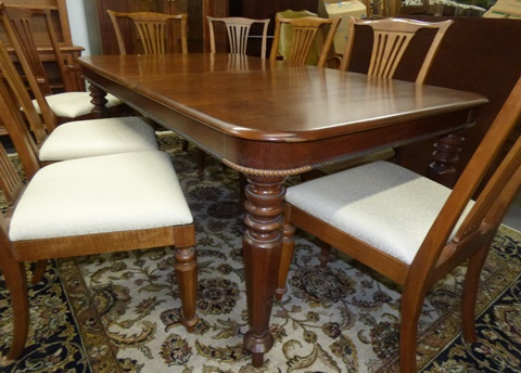 Old Havana Dining Table With 8 Chairs, Used Pennsylvania House Dining Room Furniture