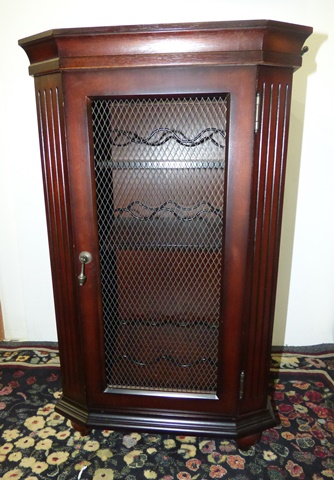 Bombay Wine Rack with Marble Top - Marva's PlaceMarva's Place